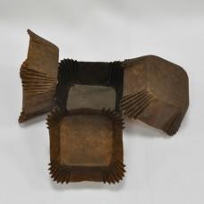 Капсулы УПАКОВКА коричневый квадрат (30х30х17мм) упаковка 2000 шт.