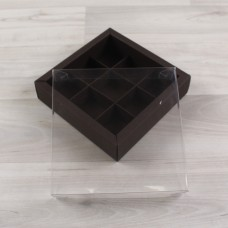 Коробка Дафнис 9 коричневый