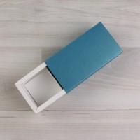 Коробка Этне 2 шубер бирюзовый металлик