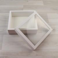 Коробка 160х140х50мм белый