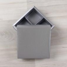 Коробка Нереида 4 серебряный