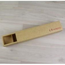 Коробка Несо 5 шубер крафт с тиснением