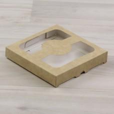 Коробка Теба 011 (105х105х17мм) крафт