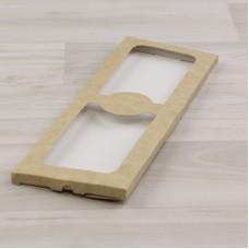 Коробка Теба 013 (252х91х8мм) крафт