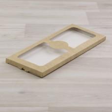 Коробка Теба 014 (240х103х10мм) крафт