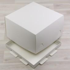 Коробка Торт белый